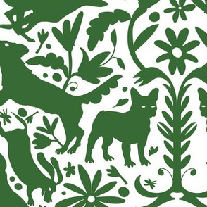 Dog Otomi Green