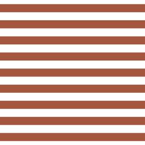 Cabana Stripes - Brick