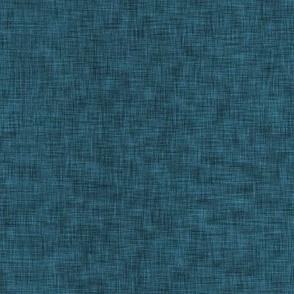 Solid Dark Blue Linen