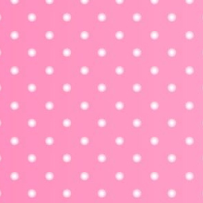 Pink Ombre Polka Dot