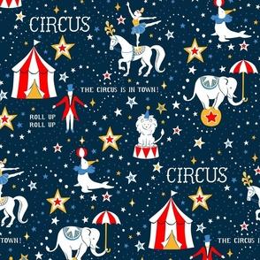 Retro Circus - large scale