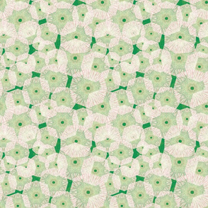 peppermint_green pinwheels_in_space_ 9x9