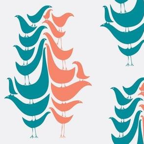 Cooky Birds in Tropical