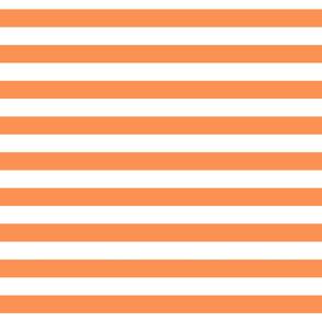 Cabana Stripes - Tangerine