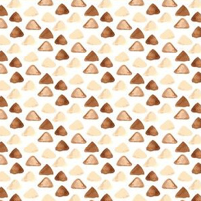 Abstract watercolor Tan brown Nautical || taupe chocolate boho water Miss Chiff Designs