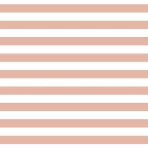 Cabana Stripes - Deco Coral