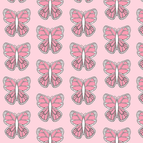 Butterfly 2- Pink