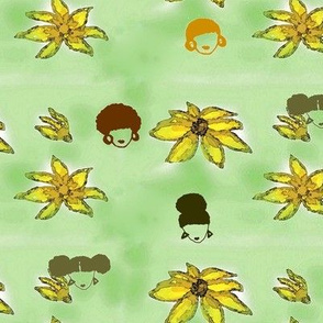 Afro Flowers