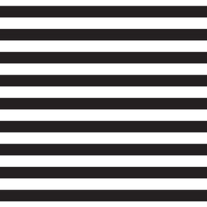 Cabana Stripes - Black Onyx