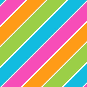 Stripes on the Bias