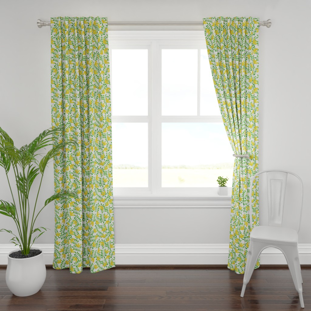 Plymouth Curtain Panel featuring pattern #8 by irenesilvino