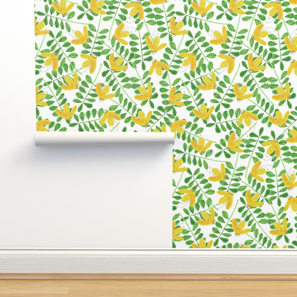 Isobar Durable Wallpaper featuring pattern #8 by irenesilvino