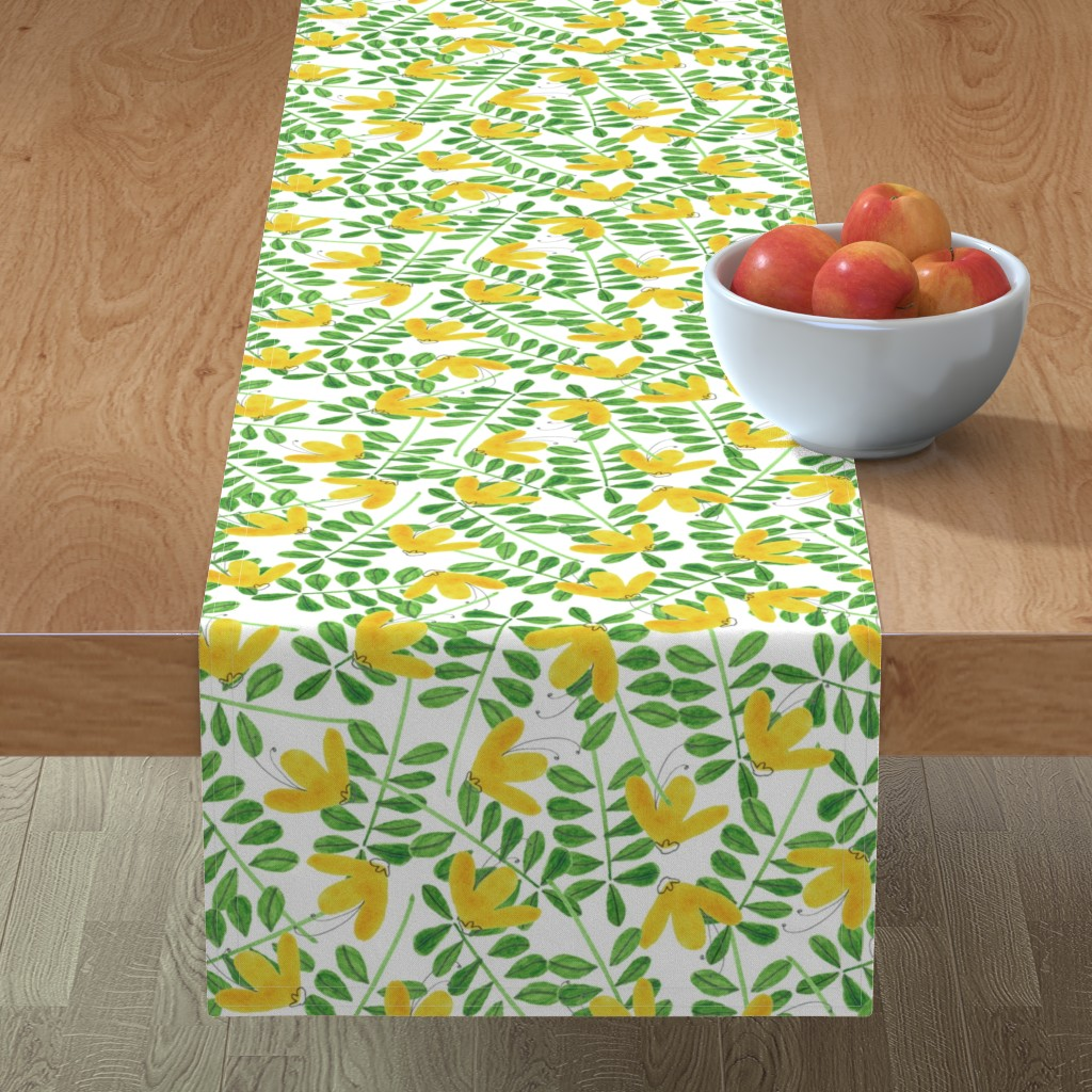 Minorca Table Runner featuring pattern #8 by irenesilvino