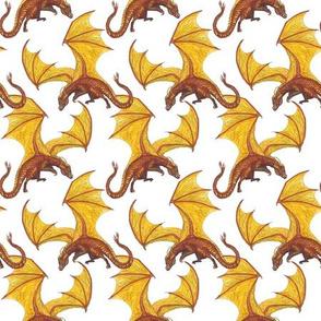 dragon on white smaller
