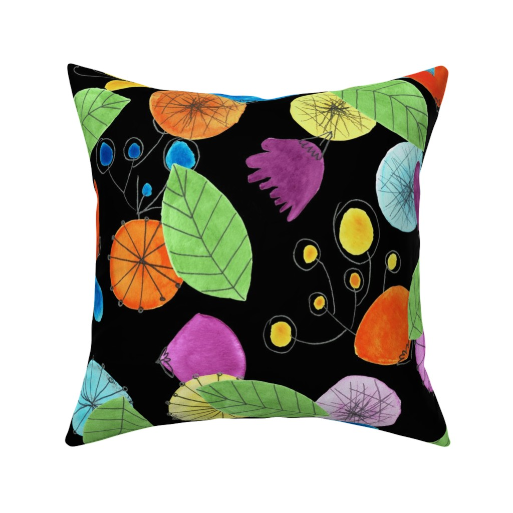 Catalan Throw Pillow featuring pattern #1 by irenesilvino