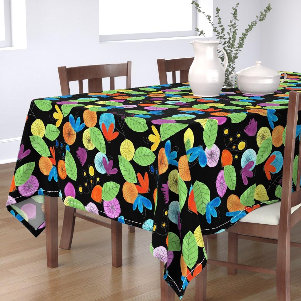 Bantam Rectangular Tablecloth featuring pattern #1 by irenesilvino