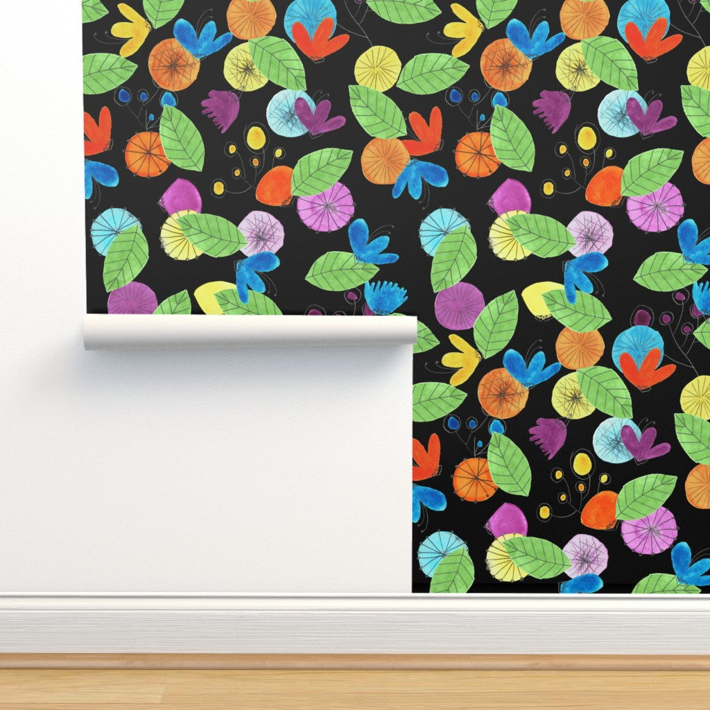 Isobar Durable Wallpaper featuring pattern #1 by irenesilvino