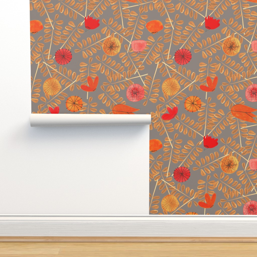 Isobar Durable Wallpaper featuring pattern #7 by irenesilvino