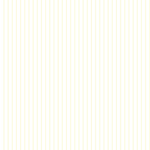 Light Yellow and White Pinstripes