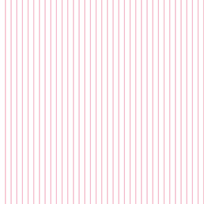 Pink and White Pinstripe