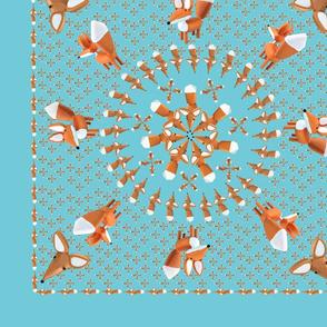 Little Foxes Bandanna