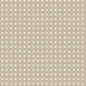 Swiss Crosses - Desert Sand