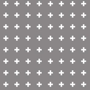 Swiss Crosses - Titanium