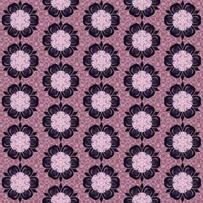 Kaleidoscope-purple Flower