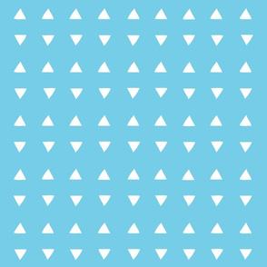 Tiny Triangles - Perfect Aqua