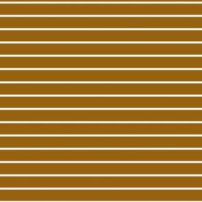 White stripes on brown background