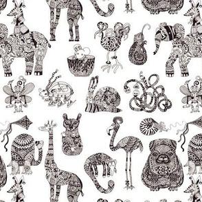 Ornamental animals