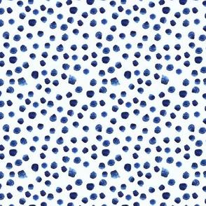 Blue brushstrokes mini