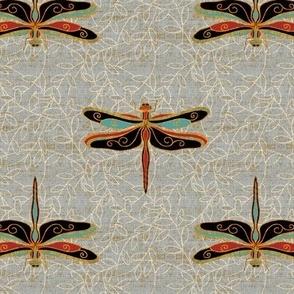 dragonflies - classic  orient