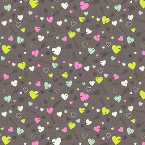 Bohemian Love Hearts