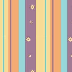 Purple Night Beach Stripe