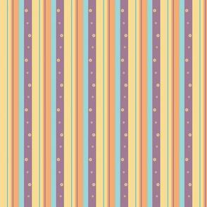 Purple Night Beach Skinny Stripe