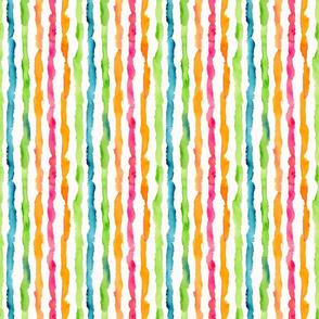 Watercolor Stripes Small
