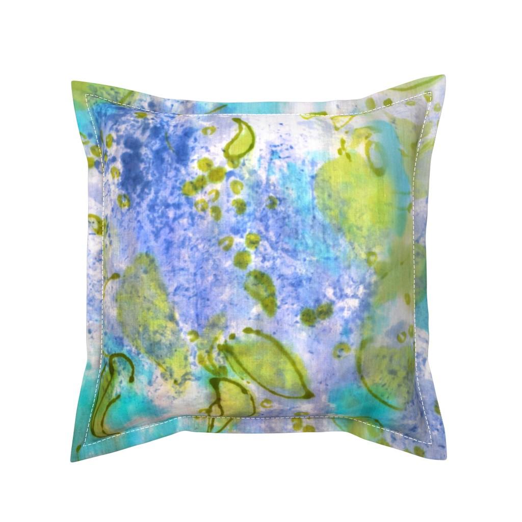 Serama Throw Pillow featuring Lilac Splendor by dorothyfaganartist