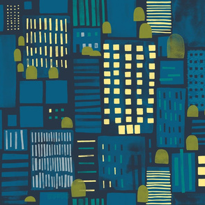 City Nightlife by Friztin