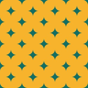Circus Diamonds - Green, Yellow