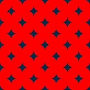Circus Diamond - Navy, Red