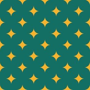 Circus Diamond - Yellow, Green