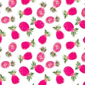 Pink pineapples mini