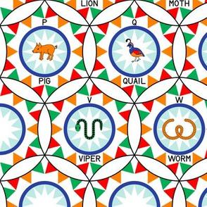 06575099 © circus hoop alphabet