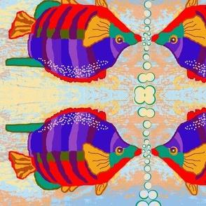 Brilliant Fish Blowing Bubbles 2