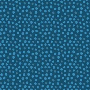 Whimsical Dot Blue