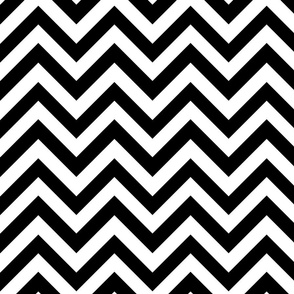 Black and White Chevrons
