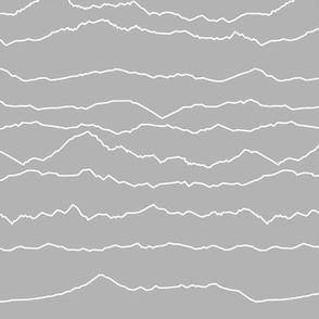 Grey Mountain Ranges