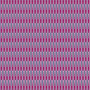 Pillars Fuchsia Upholstery Fabric