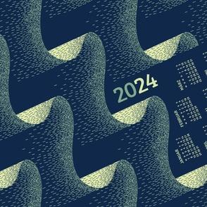 German 2021 Calendar, Monday / Aurora